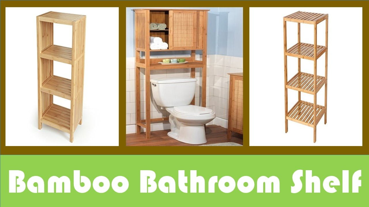 Top 05 best bamboo bathroom shelf for you for Bamboo in the bathroom
